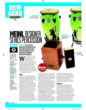 MEINL DESIGNER  SERIES PERCUSSION