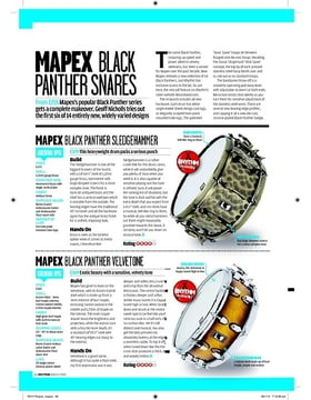MAPEX BLACK PANTHER BLACK WIDOW