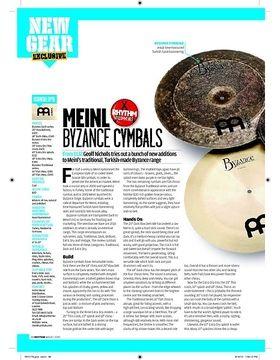 MEINL BYZANCE CYMBALS