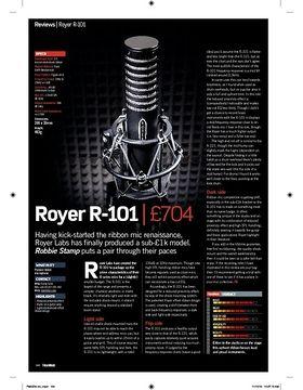 Royer R-101