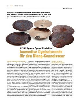 Meinl Byzance Cymbal-Neuheiten 2010