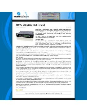 MOTU UltraLite Mk3 Hybrid