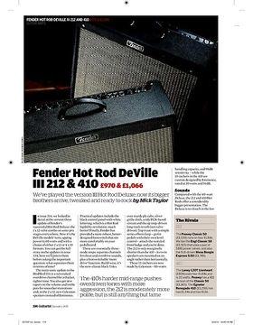 Fender Hot Rod DeVille 212 & 410