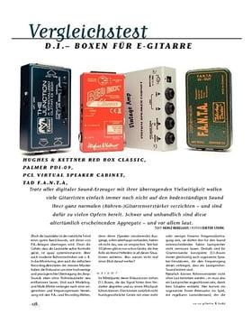 Vergleichstest: D.I. Boxen für E-Gitarre