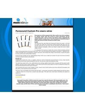 Puresound Custom Pro snare wires
