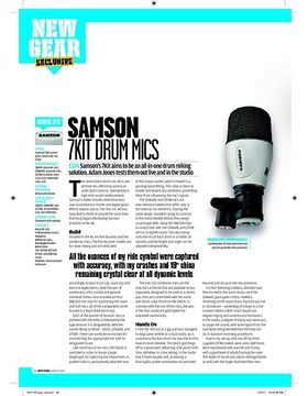 Samson 7KIT Drum Mics