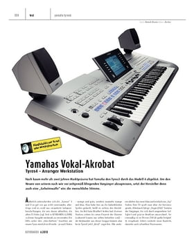 Tyros4 - Arranger Workstation