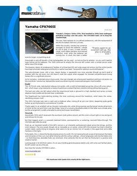Yamaha CPX700II