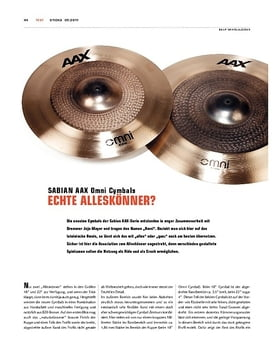 Sabian AAX Omni Cymbals