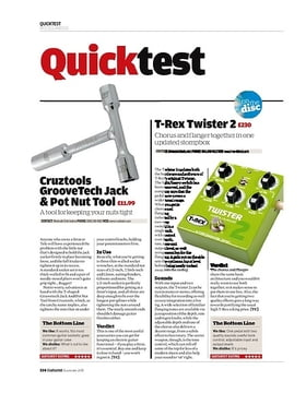 Cruztools GrooveTech Jack and Pot Nut Tool
