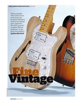 Fender American Vintage '72 Telecaster Thinline