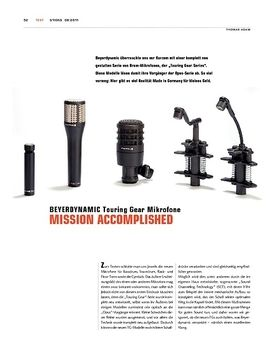 Beyerdynamic Touring Gear Drum-Mikrofone