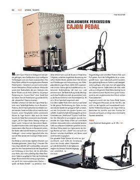 Schlagwerk Cajon-Pedal