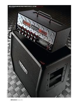 Mesa/Boogie Mini Rectifier Twenty-Five and Mini Recto 1 x 12 cabinet