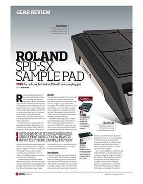Roland Spd Sx Sampling Pad Thomann Uk