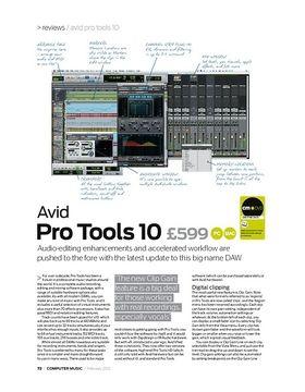 Avid P ro Tools 10