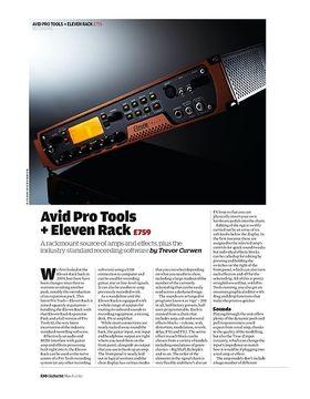 Avid Pro Tools + Eleven Rack