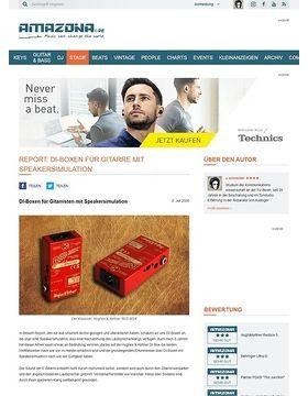 Vergleichstest: Di-Boxen mit Speakersimulation, Hughes und Kettner Redbox classic, Behringer Gi100, Palmer PDi09