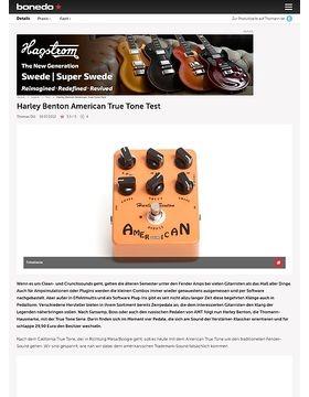 Harley Benton American True Tone