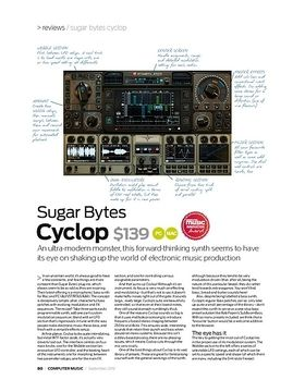 Sugar Bytes Cyclop