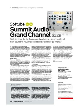 Softube Summit Audio Grand Channel