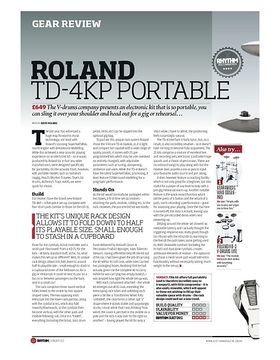 ROLAND TD-4KP PORTABLE