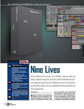 Ableton Live 9 Suite (Teil 1)