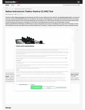 Native Instruments Traktor Kontrol X1 MK2 Test