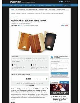 Meinl Artisan Edition Cajons