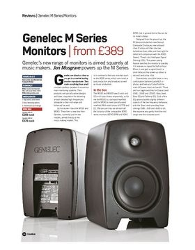 Genelec M Series Monitors