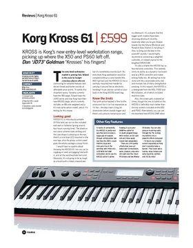 Korg Kross 61