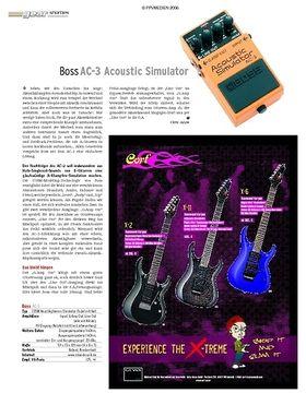 Test: Boss AC-3 Acoustic Simulator