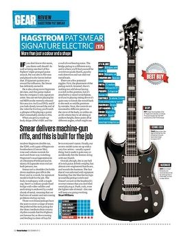 Hagstrom Pat Smear Signature Electric