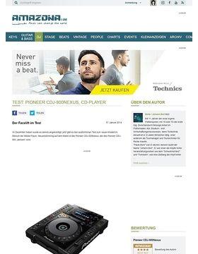Test: Pioneer CDJ-900Nexus, CD-Player
