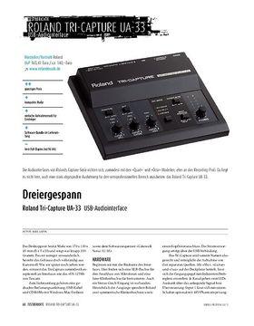 Roland Tri-Capture UA-33 - USB-Audiointerface
