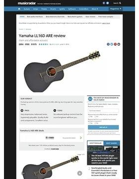 Yamaha LL16D ARE