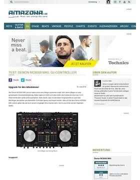 Test: Denon MC6000 MKII, DJ-Controller