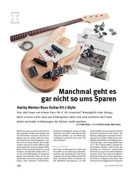 Harley Benton Bass Guitar Kit J-Style