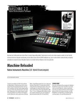Native Instruments Maschine 2.0 - Hybrid-Drumcomputer
