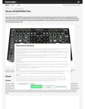 Denon MC6000 MK2