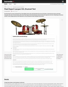 Pearl Export Lacquer