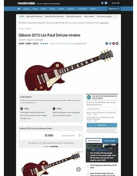 Gibson 2015 Les Paul Deluxe