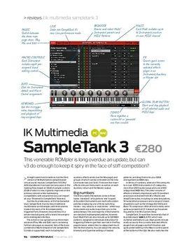 IK Multimedia SampleTank 3