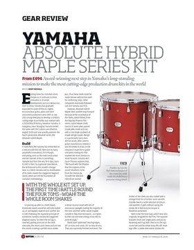 Yamaha Absolute Hybrid Maple Series Kit