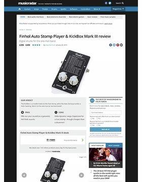Finhol Auto Stomp Player & KickBox Mark III