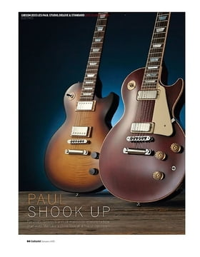 Gibson 2015 Les Pauls