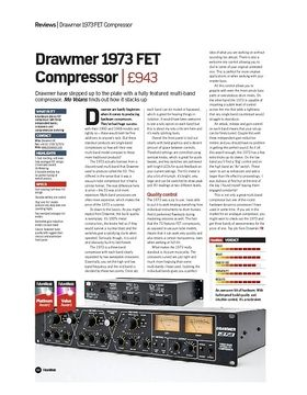 Drawmer 1973 FET Compressor