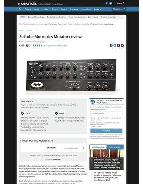 Softube Mutronics Mutator