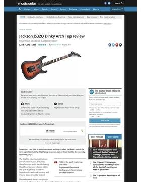 Jackson JS32Q Dinky Arch Top