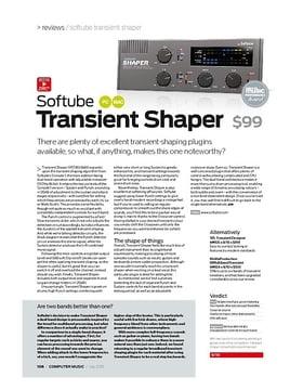 Softube Transient Shaper